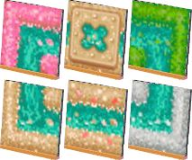 본디 다른걸 만들려 했던건데..어쩌다 또.. 또그렇게.. 시력 파괴 패턴을 만들다.. 색도 못정해서 요래조래... Tahiti, Acnl Paths, Motif Acnl, Theme Nature, Fig Tree, Animal Crossing Qr, Qr Codes, New Leaf, Coding