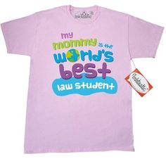 Inktastic Law Student Gifts For Kids T-Shirt Auditing Clothing Apparel Clothes Occupation Job Cute Mens Adult Tees T-shirts Hws, Size: XL, Pink