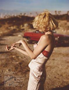 Vogue Netherlands, 2012. Photo: Annemarieke van Drimmelen/House of Orange.
