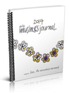 2014 Daily Musings Journal   mountain mermaid studios