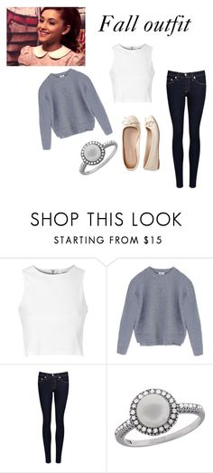 """""""fall ari inspired outfit"""" by ariana-grande-style-100 ❤ liked on Polyvore featuring Glamorous, Acne Studios, rag & bone/JEAN, Effy Jewelry and Aéropostale"""