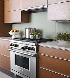10 Kitchen Trends Here to Stay - Contemporary Wood Fronts - door and drawer fronts are streamlined with no raised or beveled paneling and partnered with modern pulls for contemporary appeal.