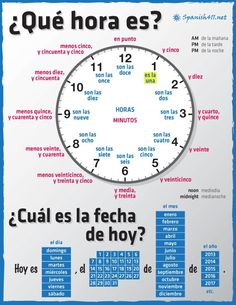 Additional page: Spanish Times and Dates, lesson plans, and activities all for the spanish teacher. Additional page: Spanish Times and Dates, lesson plans, and activities all for the spanish teacher. Date In Spanish, Spanish Help, Learn To Speak Spanish, Spanish Basics, Spanish Vocabulary, Spanish Language Learning, Learn A New Language, Teaching Spanish