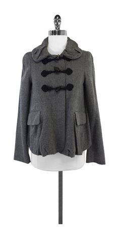 Marc by Marc Jacobs Grey Cotton Blend Jacket