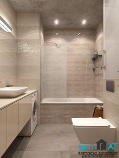 Дизайн однокомнатной квартиры г. Пушкин. Ванная