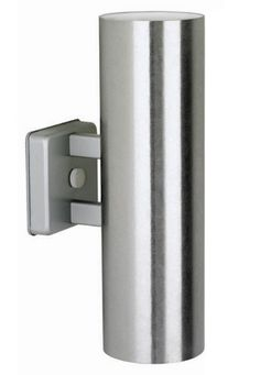 Mid-Century Indoor/Outdoor Wall Sconce in satin aluminum finish; $199 at NOVA68.