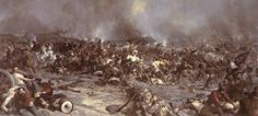 3 July - in Adams County, Pennsylvania, the Battle of Gettysburg ended after three days with a Union victory, marking a turning point in the American Civil War. Pickett's Charge, War Of 1812, America Civil War, Gettysburg, American Revolution, American History, Cool Art, Battle, Painting