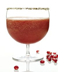 Aphrodisiac Margarita. Mixologist Adam Seger claims that the margarita is the cocktail world's aphrodisiac. This version combines passion fruit and pomegranate, commonly associated with Aphrodite, the goddess of love.