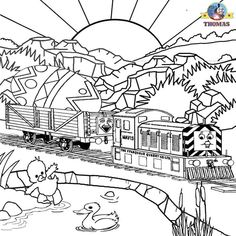 Thomas the train easter coloring pages. | THOMAS THINGS ...