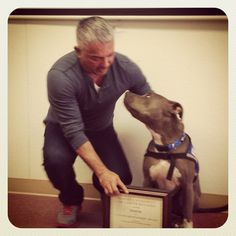 Junior and I getting our Masters degree yesterday. #JuniorMillan