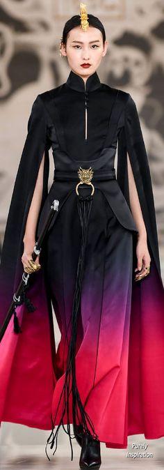 Heaven Gaia SS2020 | Purely Inspiration Runway Fashion, Fashion Beauty, Fashion Show, Fashion Outfits, Geisha, Ethnic Chic, Queen, Future Fashion, Empire