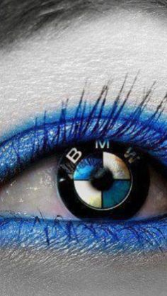 Sexy eyes #bmw #contacts #foryoureyesonly #sexy