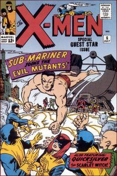 Uncanny X-Men # 6 by Jack Kirby & Chic Stone