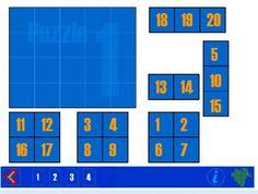 Het honderdveld is voor beelddenkers erg effectief om overzicht te krijgen in het rekenen. Als het honderdveld visueel is opgeslagen kunnen ze d.m.v. bewegingen wél rekenen! Onderstaand spelletje is leuk om te oefenen met het honderdveld! Het kan ook op het digibord gespeeld worden via deze link. Voor eenvoudige puzzels tot 20 kun je kiezen …