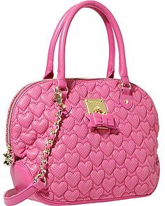 Betsey Johnson - Always Be Mine Dome Satchel