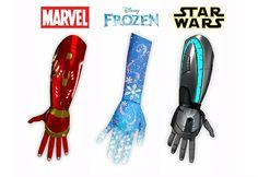 Prótesis infantiles inspiradas en películas Disney #diseño #innovación