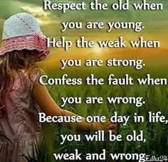 A good lesson in life my dear children.....sk