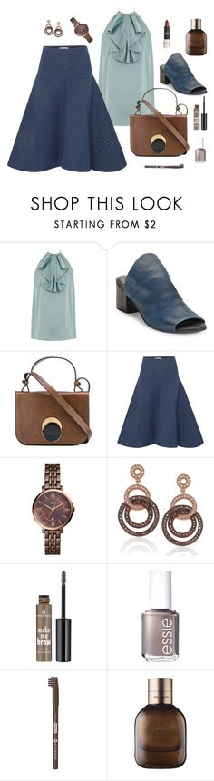 """""""CONJUNTO796"""" by lauracabrera-2 ❤ liked on Polyvore featuring Zimmermann, Charles by Charles David, Marni, Fendi, FOSSIL, Suzy Levian, Essie and rag & bone"""