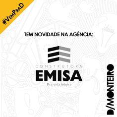 A Construtora EMISA agora é cliente #DMONTEIRO! #Welcome #BemVindos