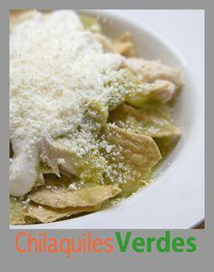 Chilaquiles verdes #gastronomiamexicana