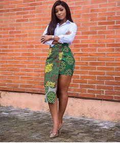 ankara stil 2020 Simple and Lovely Ankara Styles African Print Skirt, African Print Dresses, African Print Fashion, Africa Fashion, African Prints, African Fabric, African Fashion Designers, African Inspired Fashion, Short African Dresses