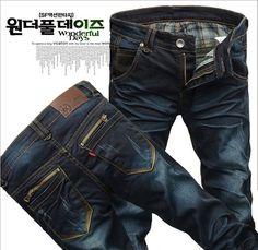 Top Sale scratch 2015 Skinny Denim designer jeans for men fashion Korean zipper Straight Design Slim Fit hole Jeans Men Pants - http://www.aliexpress.com/item/Top-Sale-scratch-2015-Skinny-Denim-designer-jeans-for-men-fashion-Korean-zipper-Straight-Design-Slim-Fit-hole-Jeans-Men-Pants/790457270.html