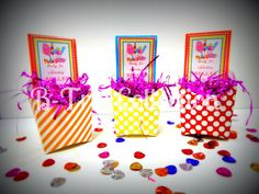French Fry goodie boxes with custom labels by BTrizCollections, $12.00