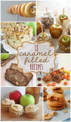 18 Caramel Recipes -