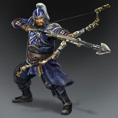 Xiahou Yuan & weapon (Wei Forces)