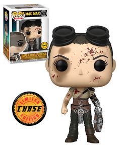 Funko POP! Movies Mad Max Fury Road #507 Imperator Furiosa - Chase Limited Edition - New, Mint Condition. https://www.supportivepc.com #Funko #FunkoPop #Collectibles