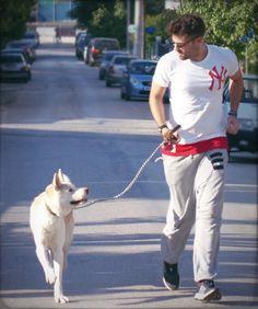 Στο τρέξιμο & η Hana! #Akita #Sunday #Argiros