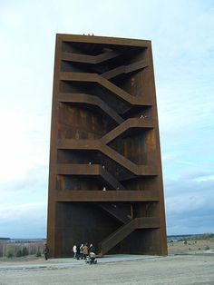 Rusty Nail: At the junction of Lake Sedlitz a 30-meter-high landmark, known as the Rusty Nail was built. It is an observation tower built from 111 tons of Corten steel. Location: Germany