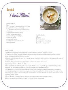 Sopa toscana de judías blancas, forma 1