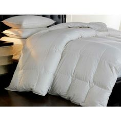 Oversized Pillowtop Down and Feather Comforter