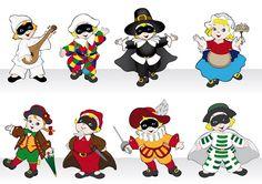 Ecco una selezione di maschere di Carnevale italiane da stampare e colorare per intrattenere i bambini e fare bei lavoretti! Crafts For Kids, Arts And Crafts, Code Art, Creative Jobs, Carnival Masks, Boy Scouts, Holiday Outfits, Paper Dolls, Bowser