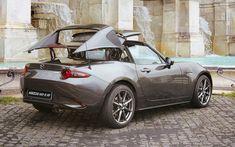 Mazda Mx 5 Miata, Mazda Cars, Miata Hardtop, Automotive Design, Exotic Cars, Muscle Cars, Cool Cars, Super Cars, Convertible