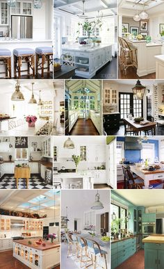 Several beautiful kitchen ideas in one place  Merriment Style Blog - Merriment - A Celebration of Style and Substance