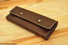 Porta cheque em couro(CH002)