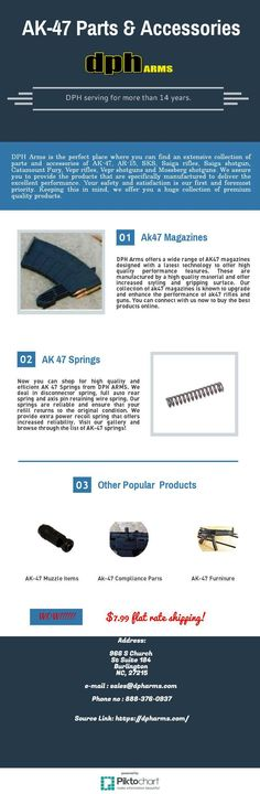 All kinds of branded parts and #accessories to #upgrade your #guns