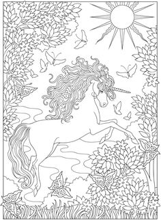 1668 Best Coloring Pages 4 Adults Images On Pinterest