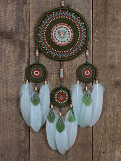 Your place to buy and sell all things handmade Dream Catcher Mandala, Dream Catcher Decor, Dream Catcher Boho, Dream Catchers, Bohemian Crafts, Dreamcatcher Design, Dream Catcher Native American, Native American Symbols, Beautiful Patterns