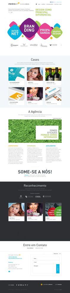Interativacom - Advertising Brands Design and Sites - Webdesign inspiration www.niceoneilike.com