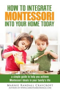Check out this Montessori at Home guide for parents & teachers.