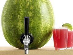 Making A Watermelon Keg