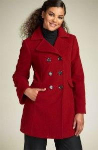 I want a red coat like this one!