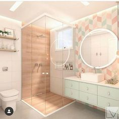 35 Pretty and Practical Modern Bathroom Design Ideas for Your New House - Page 5 of 7 - Vivelavi Blo Dream Bathrooms, Dream Rooms, Amazing Bathrooms, Small Bathroom, Marble Bathrooms, Boho Bathroom, Master Bathrooms, Girl Bathroom Ideas, Houzz Bathroom