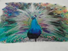 peacock fabric-  LOVE IT . .  now I just need to find it!!!!