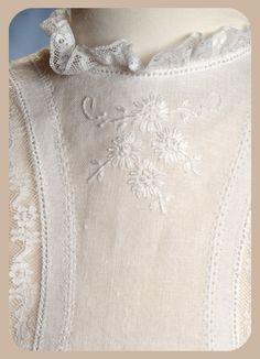 Lillian's Heirlooms -- cotton, handkerchief linen, silk christening gowns