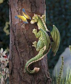 Solar Dragon Tree Hugger