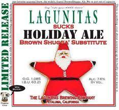 """Lagunitas Sucks Holiday Ale """"Brown Shugga' Substitute"""" - Sooooooooooooooooooo Good!"""